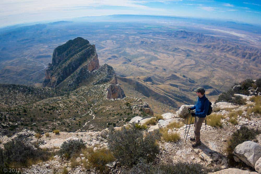 hiking Guadalupe Mountains National Park