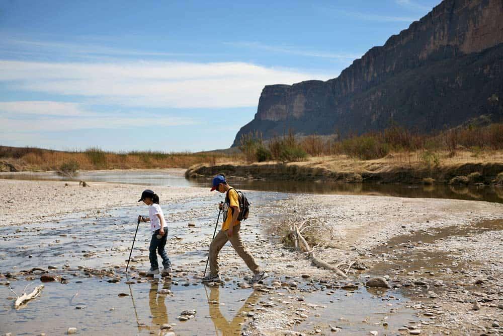hiking big bend national park texas