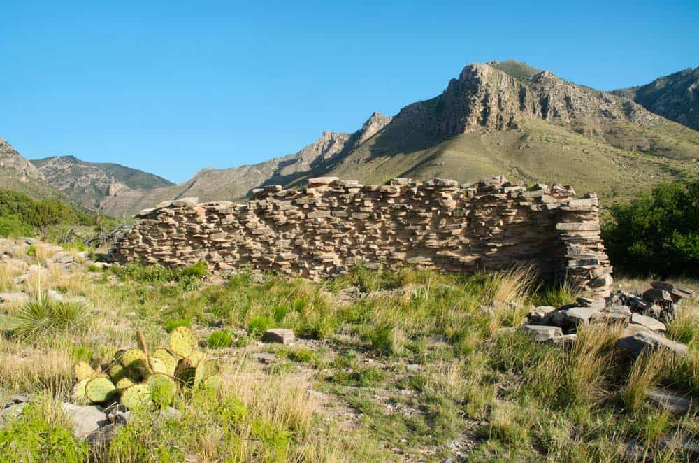 pinery ruins guadalupe mountains