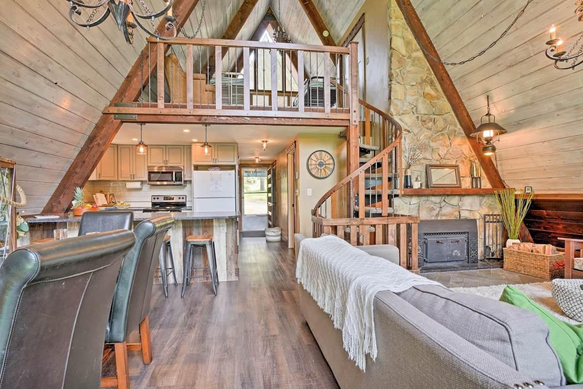 A-Frame Cabin airbnb ID