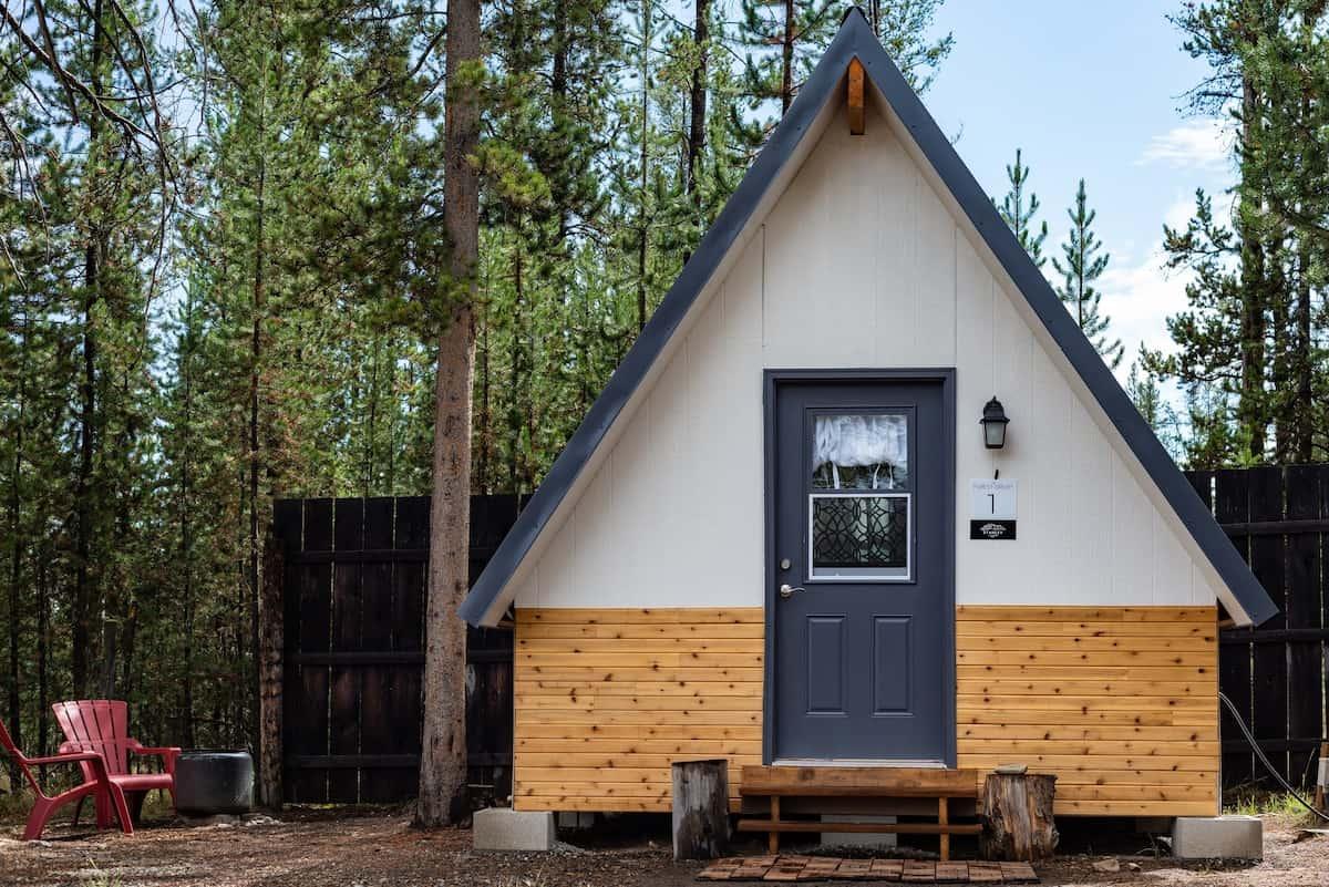 A-frame Cabin idaho