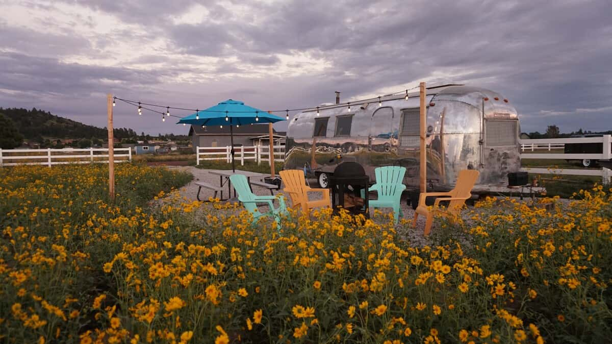Airstream Dreaming flagstaff glamping