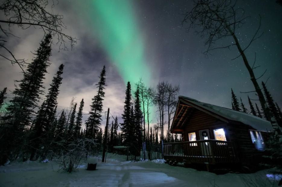 Alaska Adventures Northern Lights Cabin