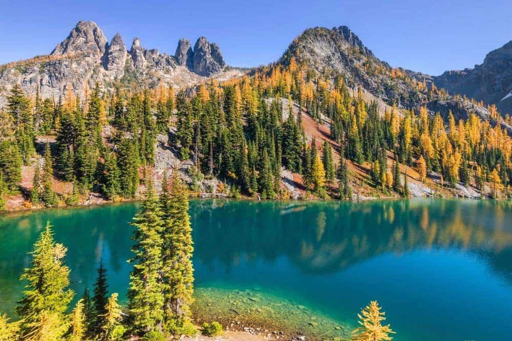 Blue Lake Trail North Cascades