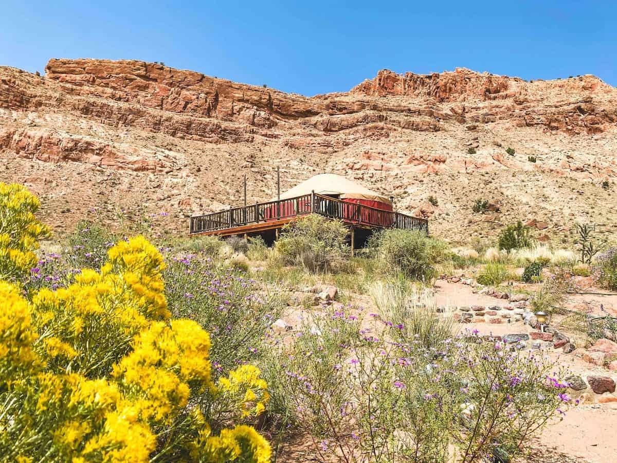 Chama River yurt airbnb
