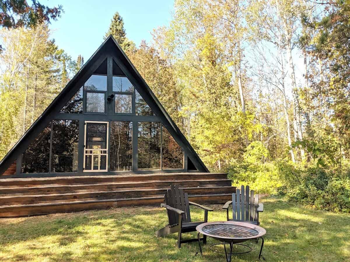 Fernside Aframe cabin