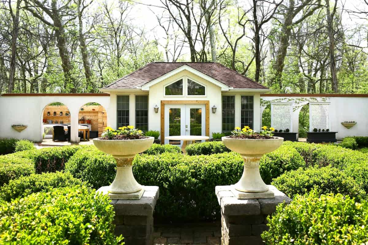 Garden Villa ohio airbnb