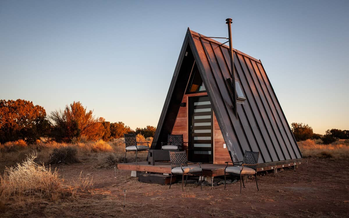 Glamping A-frame williams