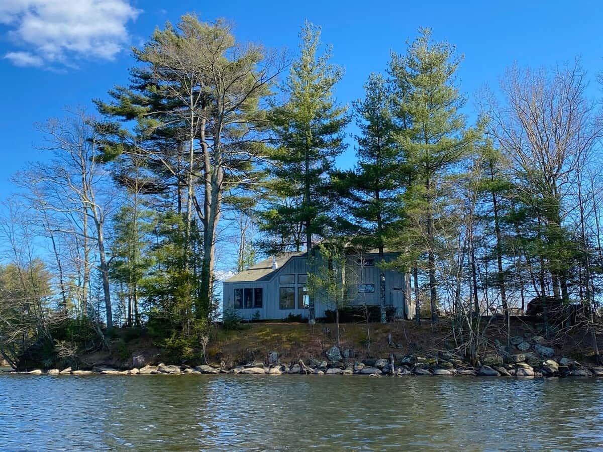 Massachusetts private peninsula airbnb