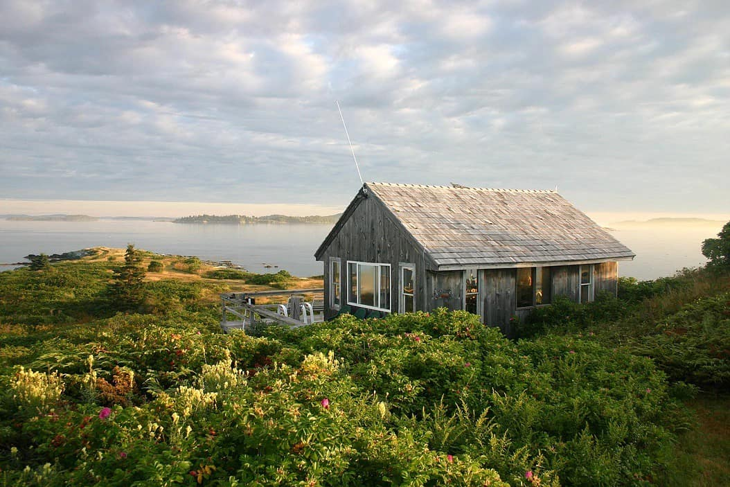Oak Island Wildlife Preserve is one of the best Airbnbs in Maine