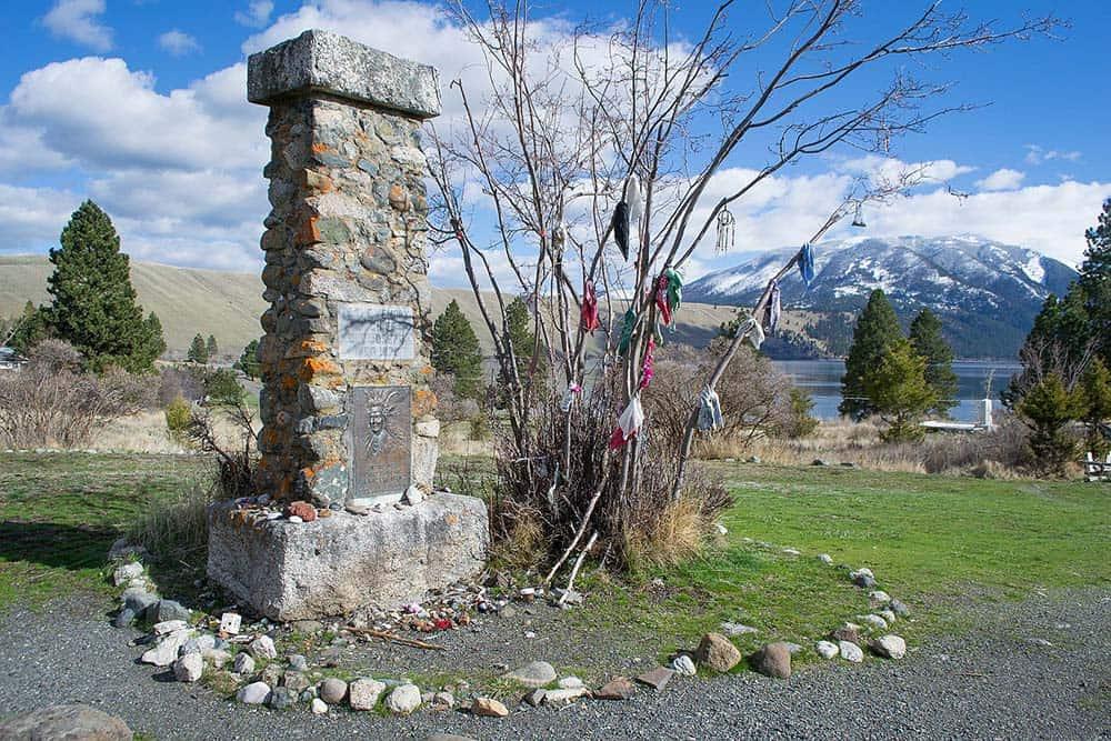 Old Chief Joseph's Gravesite nez perce