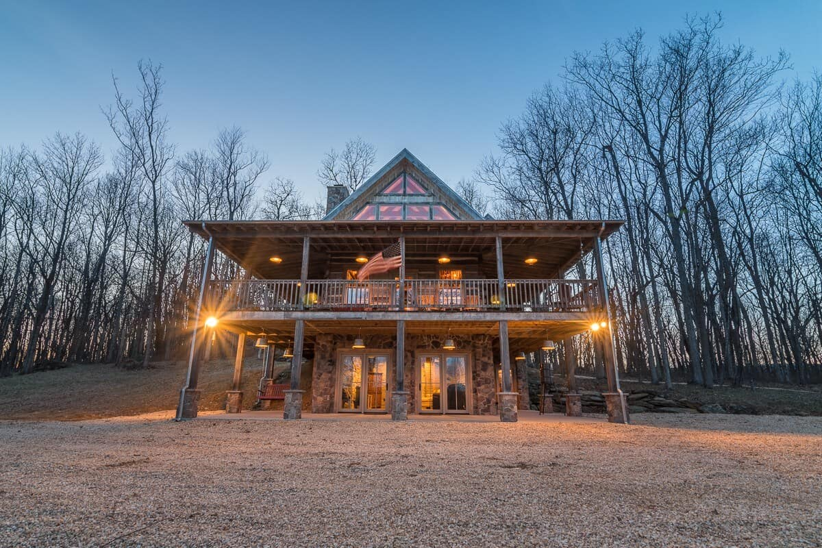 Sanctuary cabin rental virginia