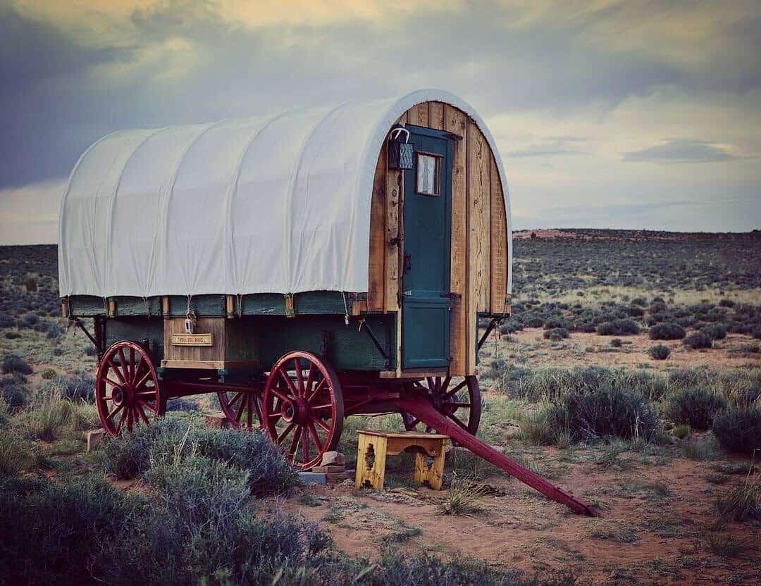 Sheep Wagon Glamping