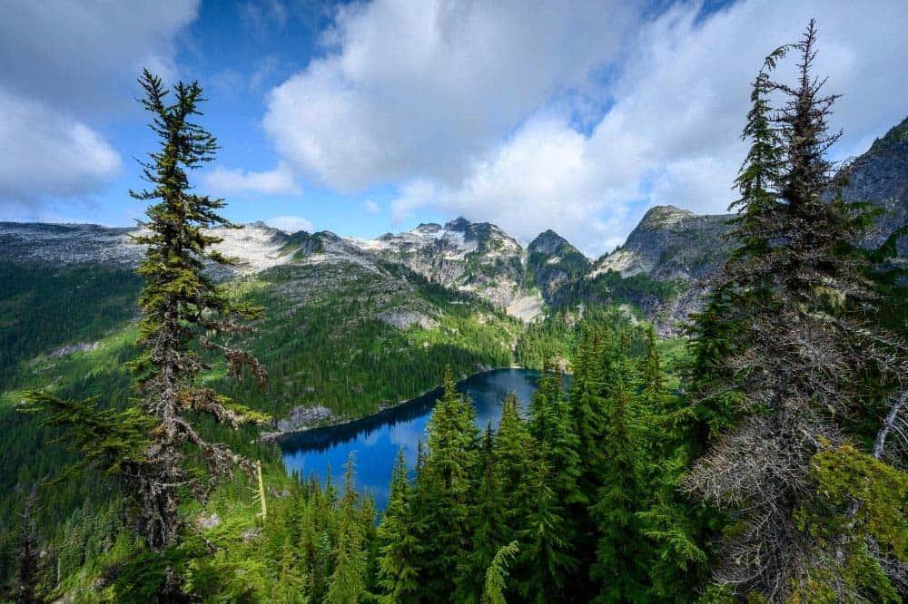 Thornton Lakes Trail North Cascades