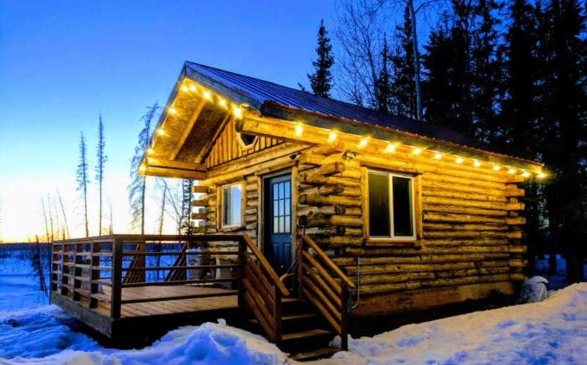 Tiny Alaska Cabin