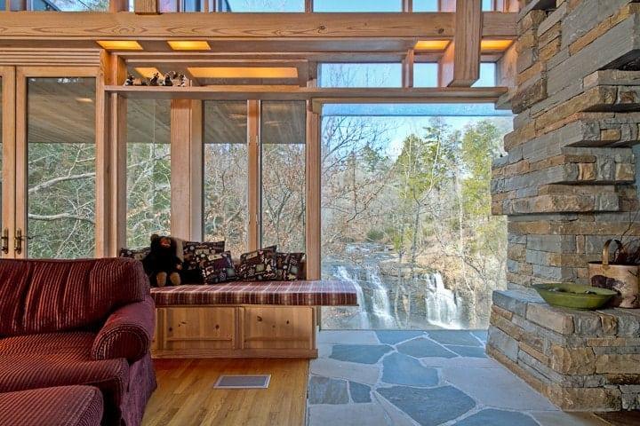 Waterfall getaway airbnb