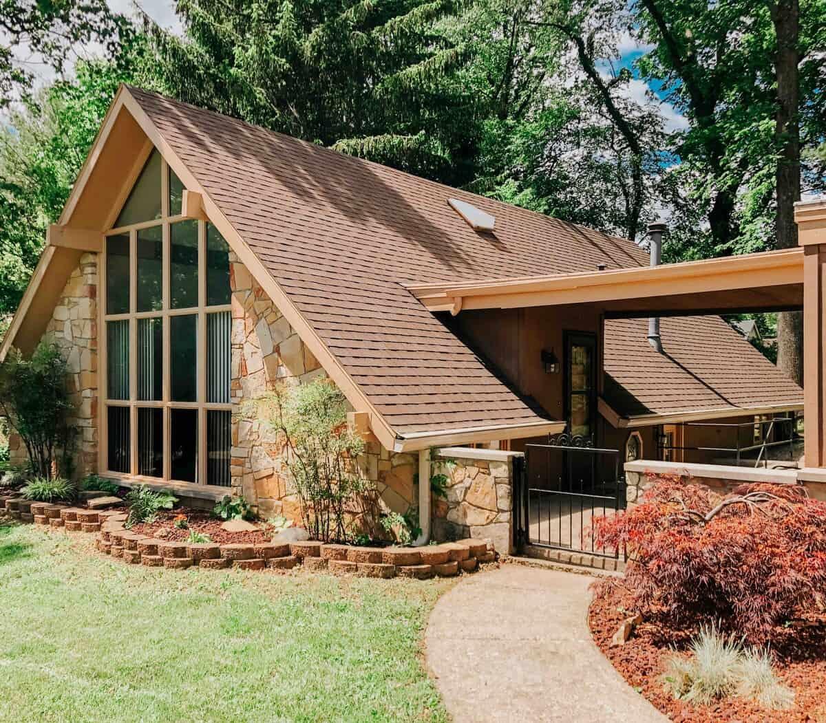 artist a-frame house rental