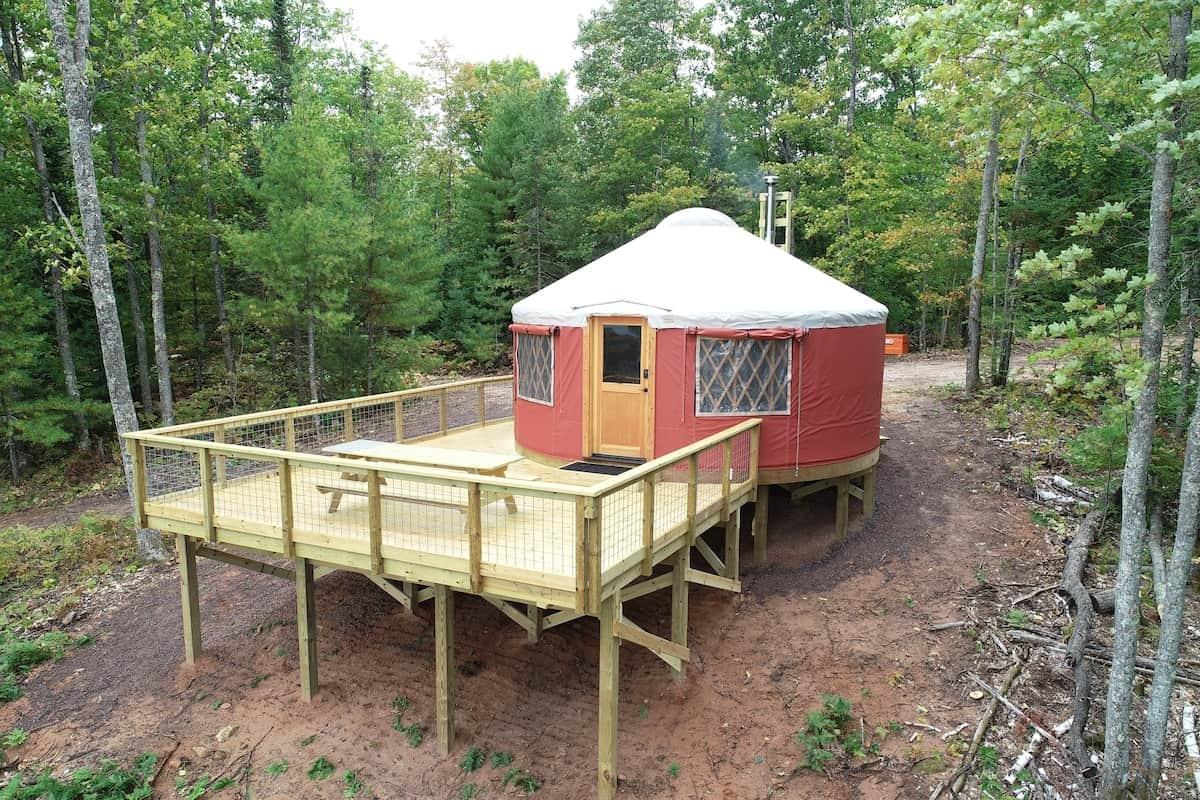 bayfield glamping yurt