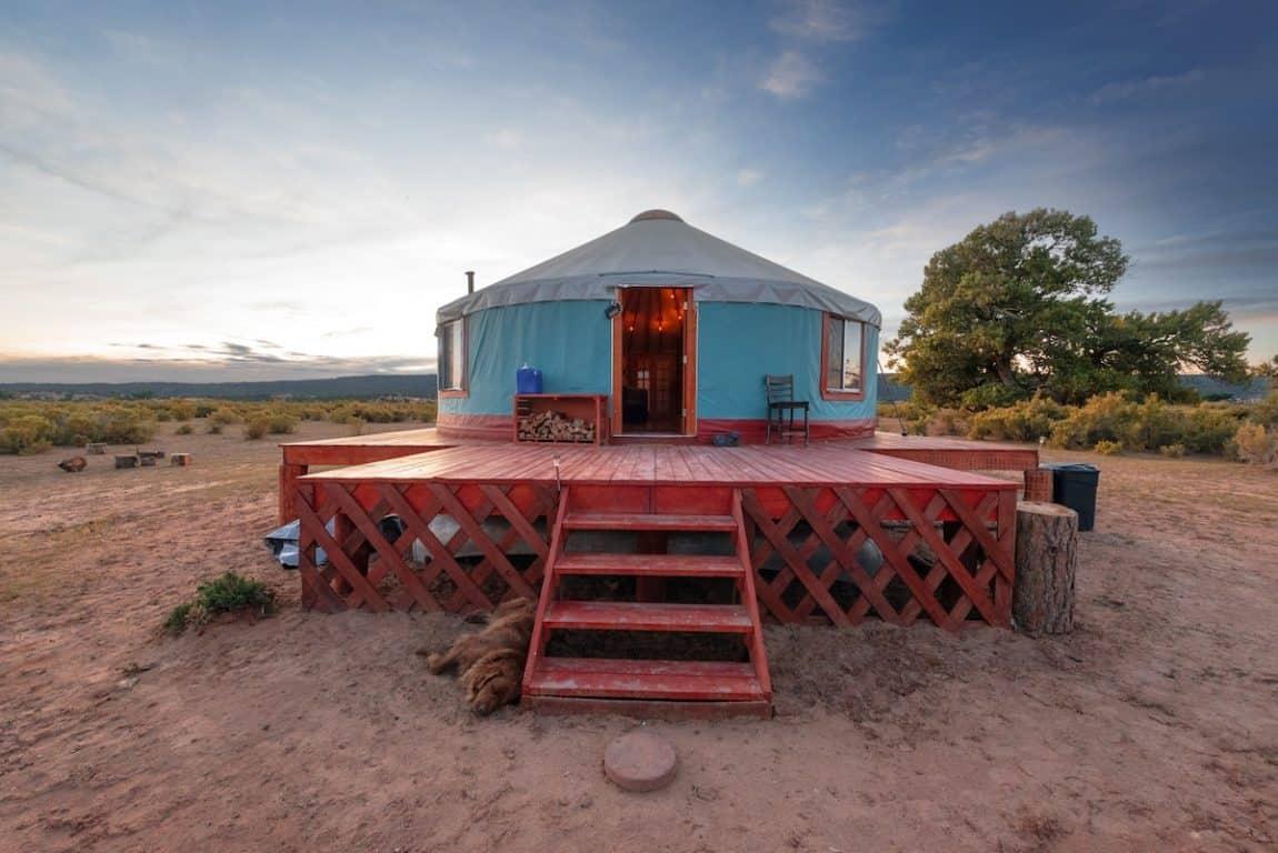 best glamping rentals in arizona