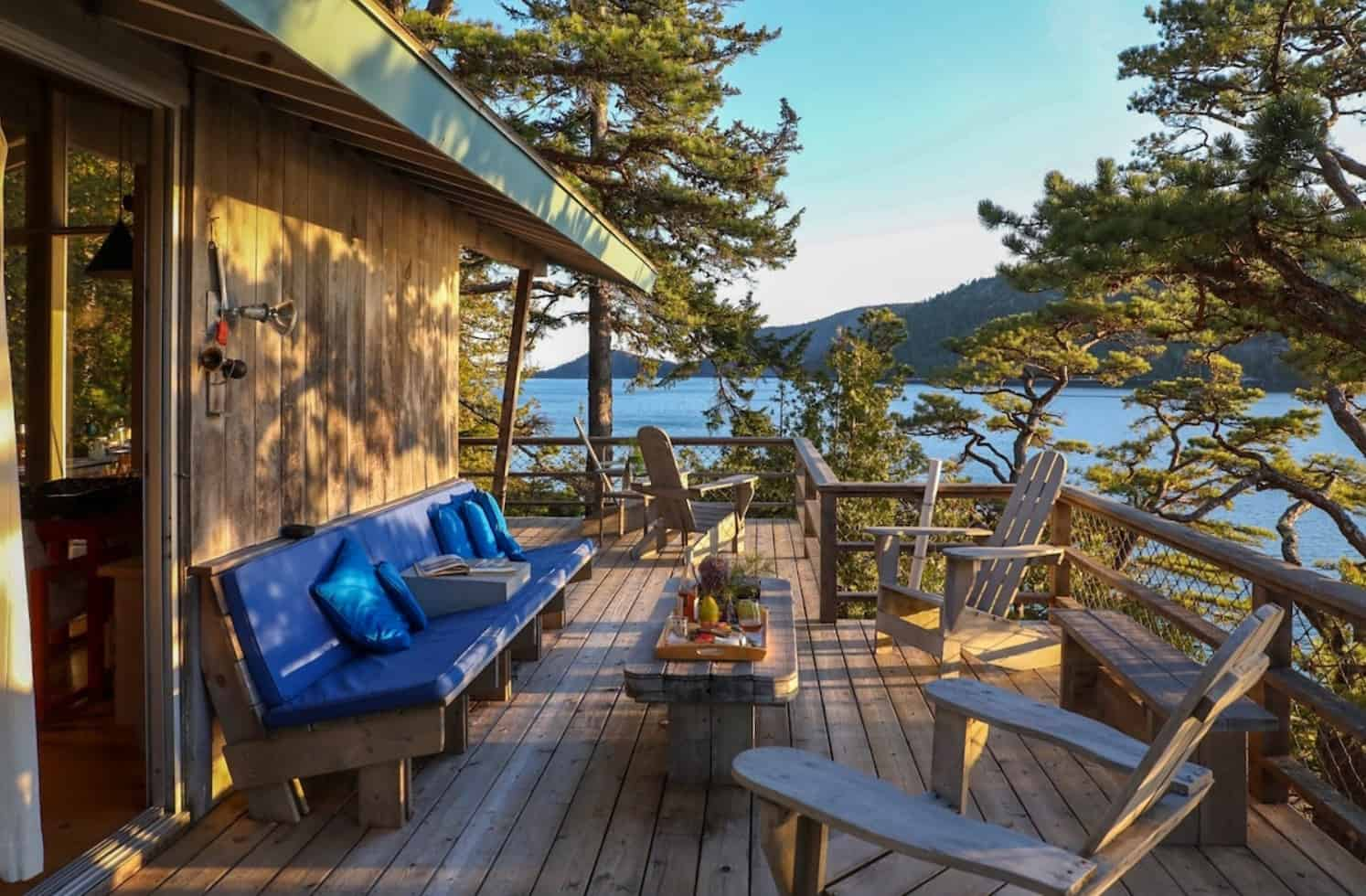 acadia maine secluded cabin