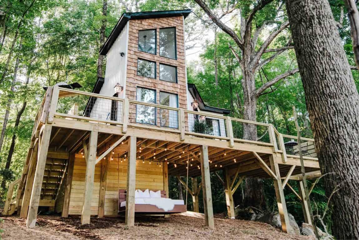 best treehouse rentals north carolina