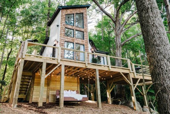 best treehouse rentals north carolina