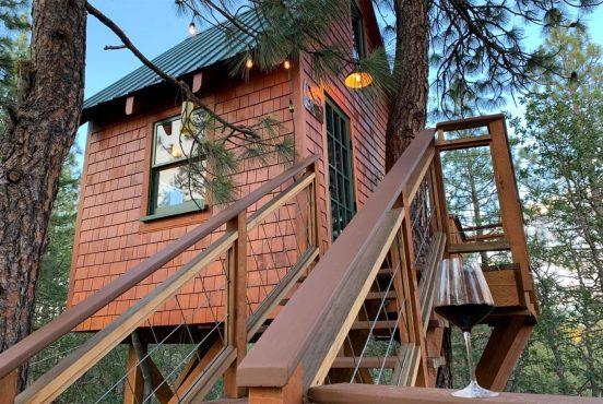 best treehouse rentals washington