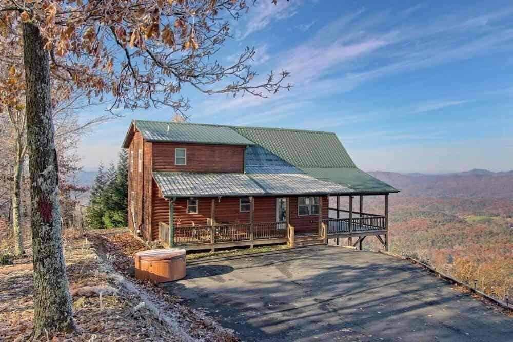 blue ridge cabin rental murphy nc
