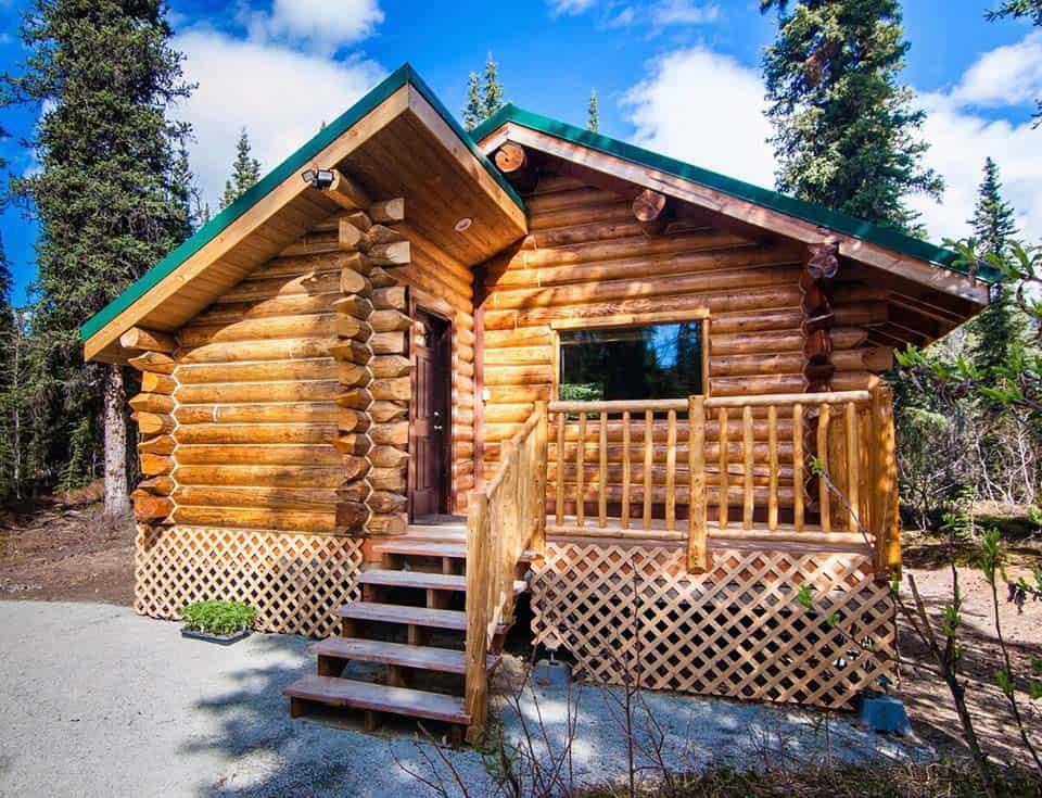 cantwell log cabin alaska