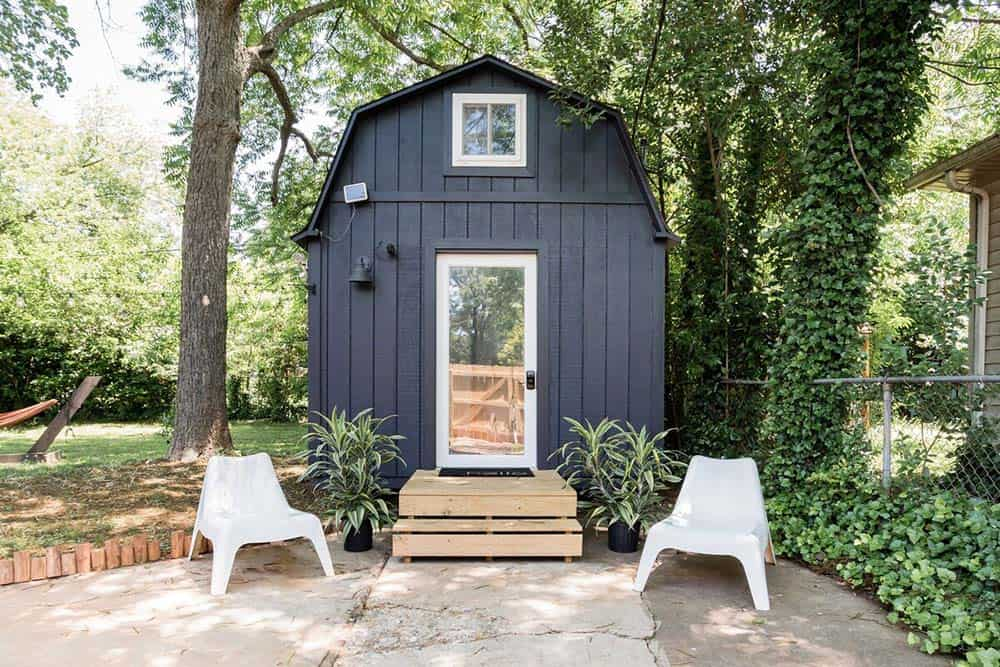 charlotte tiny house airbnb