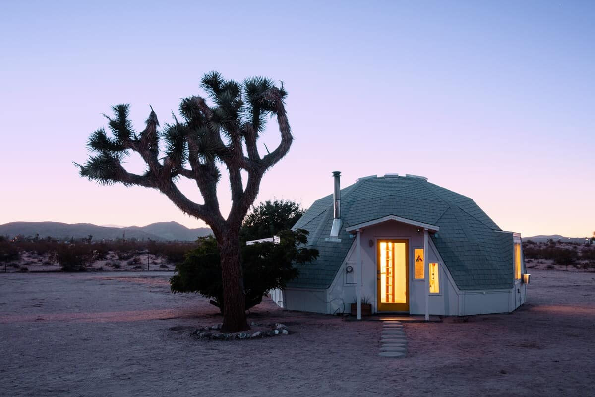 dome in the desert airbnb rental
