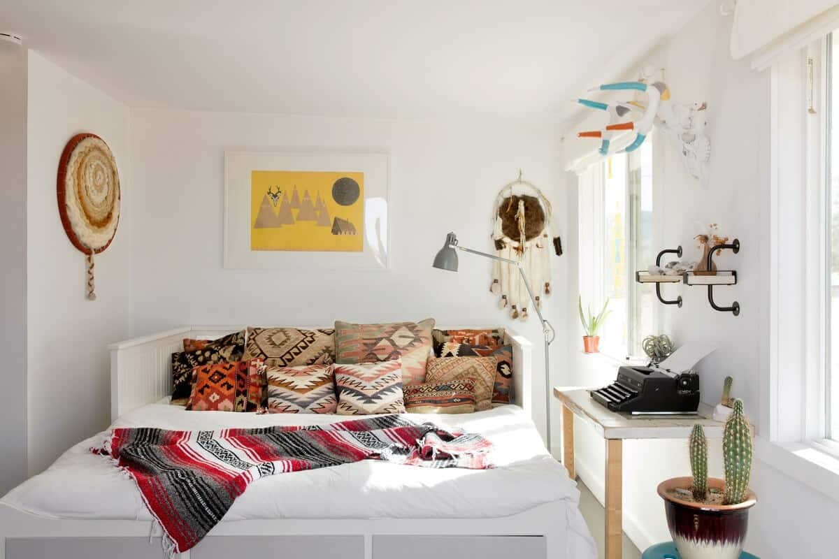 dome in the desert bedroom