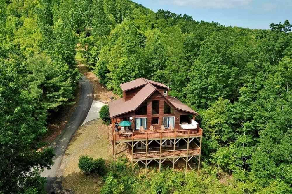 eagle point cabin rental murphy nc