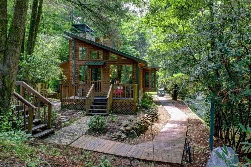 fires creek cabin murphy nc