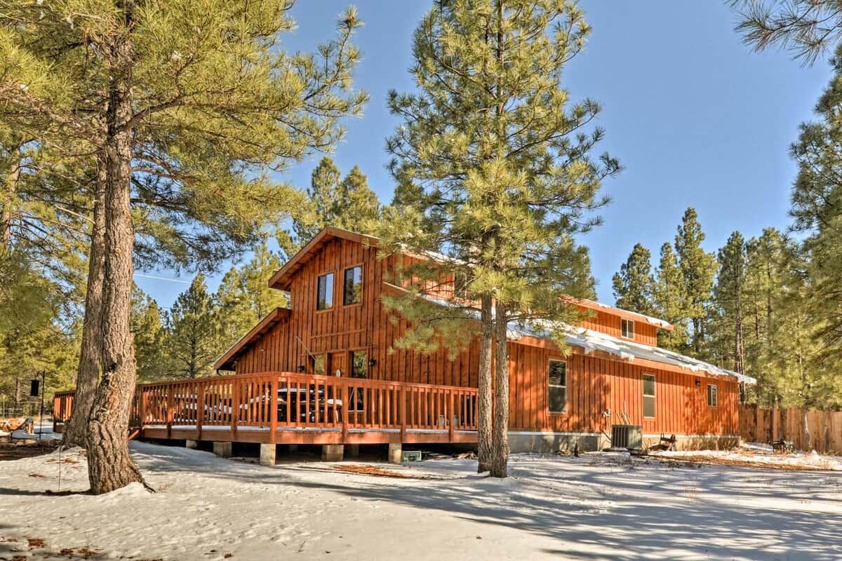 flagstaff cabin 5 acres
