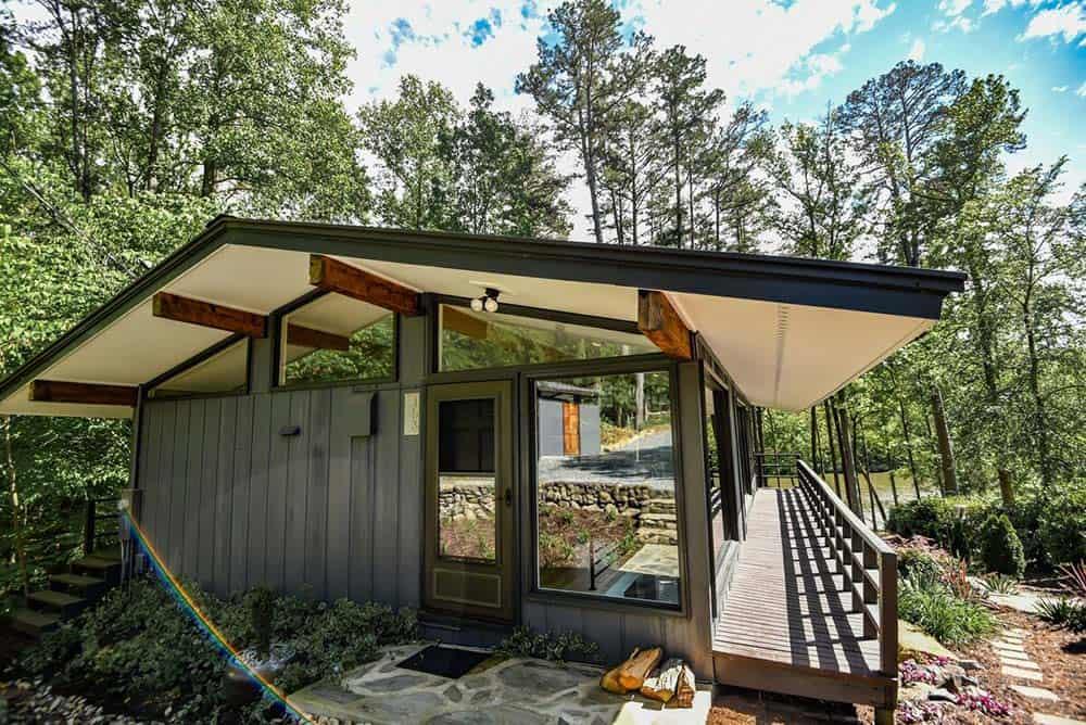 glass house airbnb north carolina