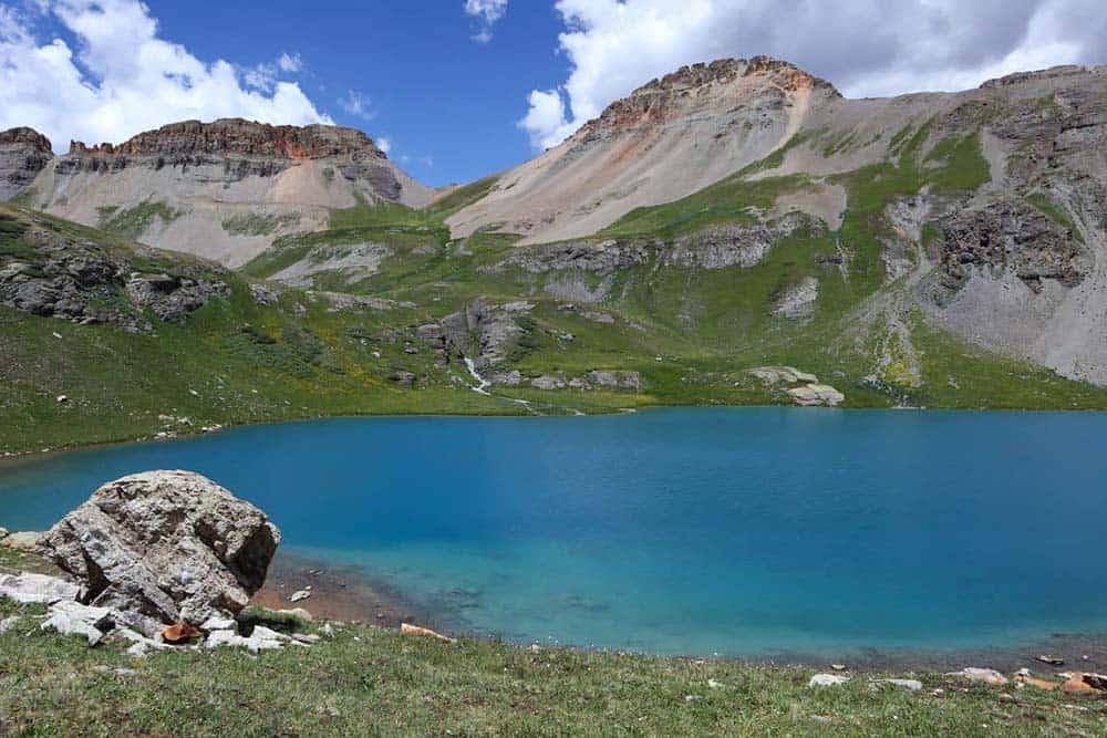 ice lake basin hike