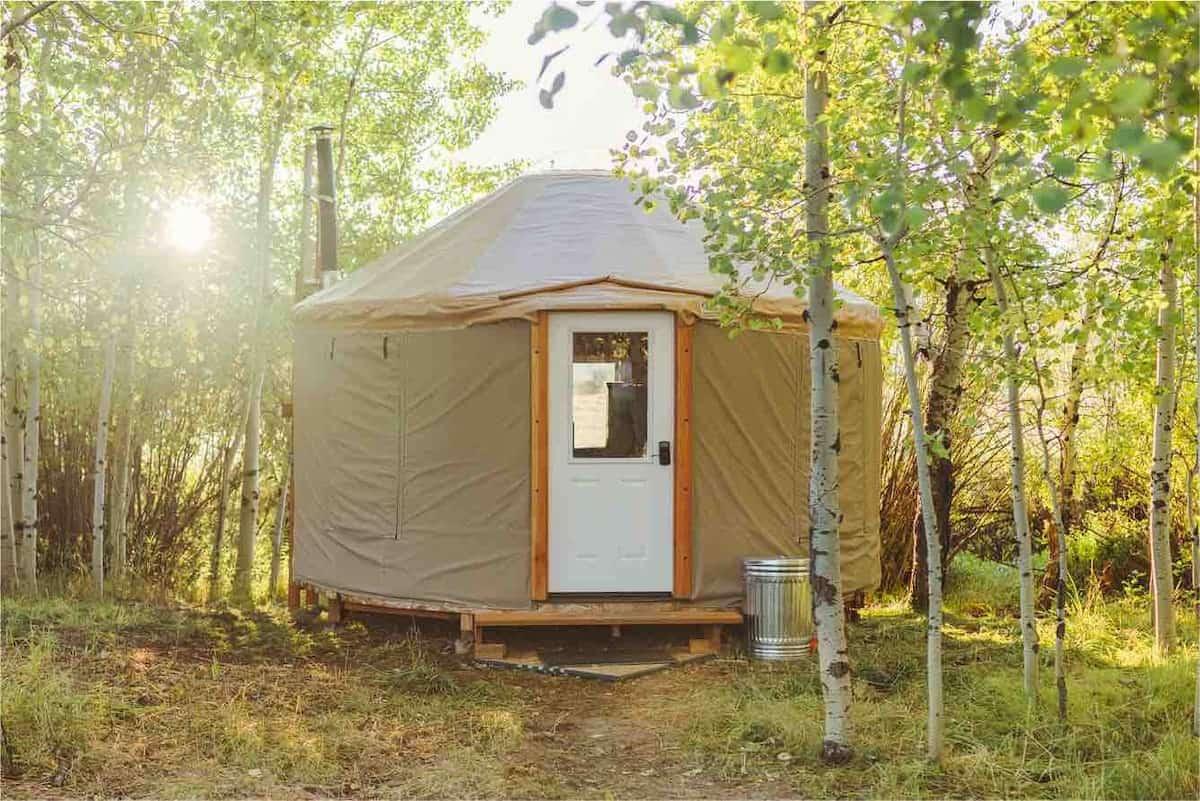 idaho yurt rental