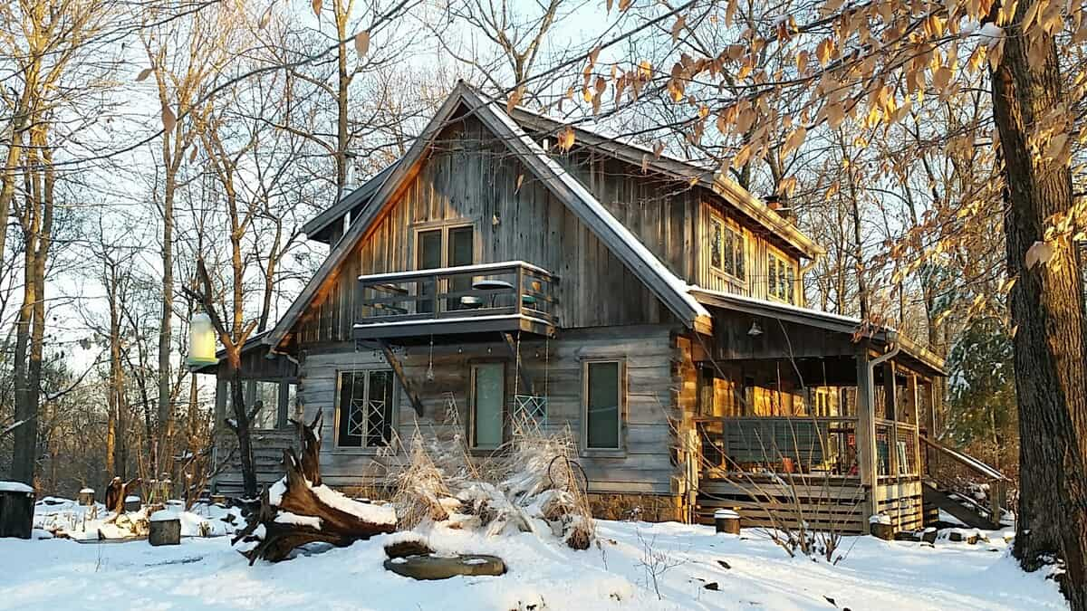 indiana airbnb cabin rental