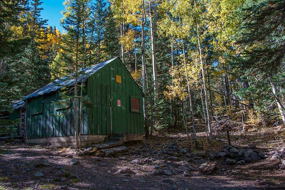 inner basin trail green shack