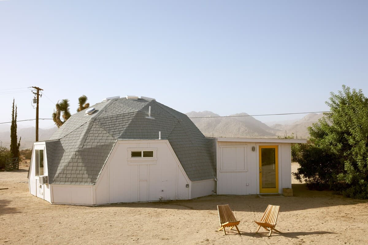 joshua tree dome house