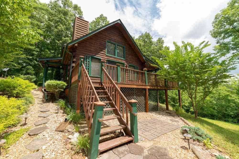 log cabin rental murphy nc