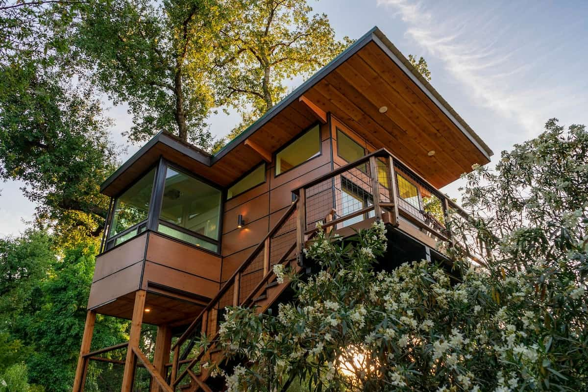 luxury california treehouse rental