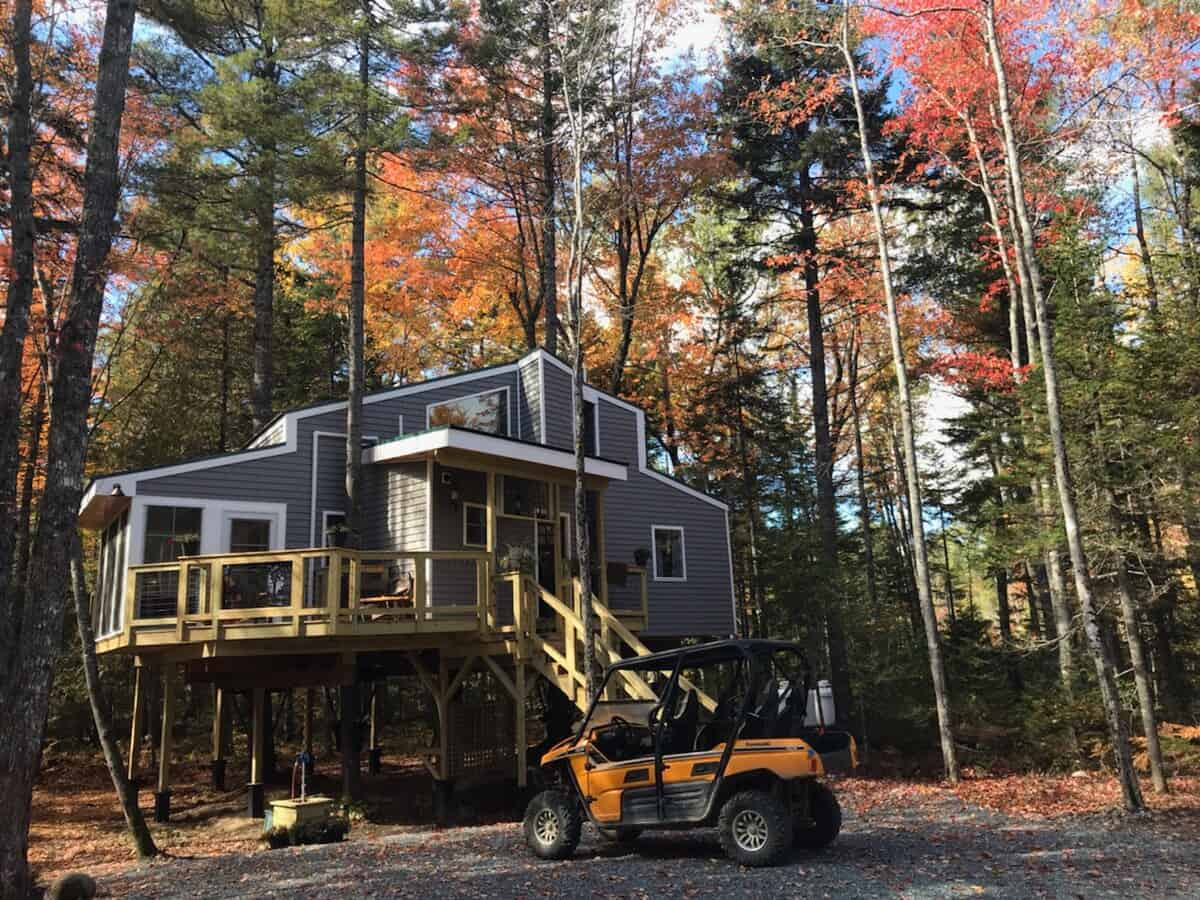maine treehouse airbnb