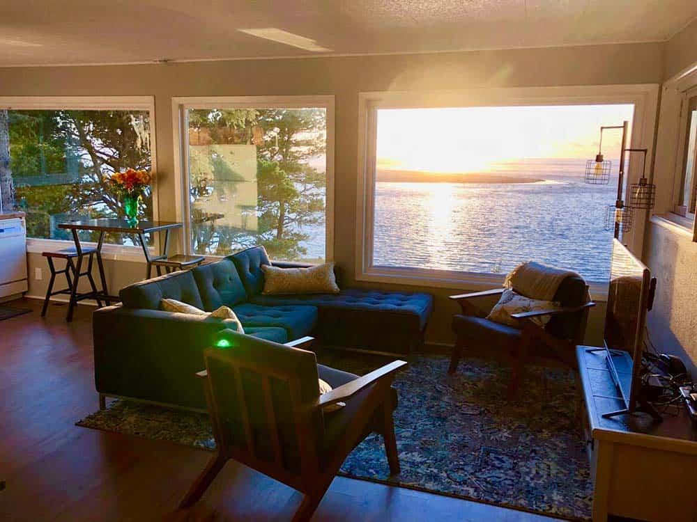 oceanview cabin rental oregon
