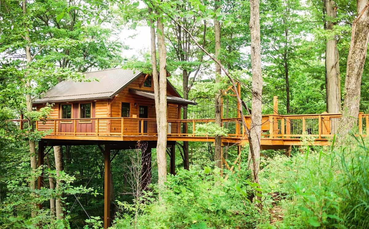 ohio treehouse airbnb