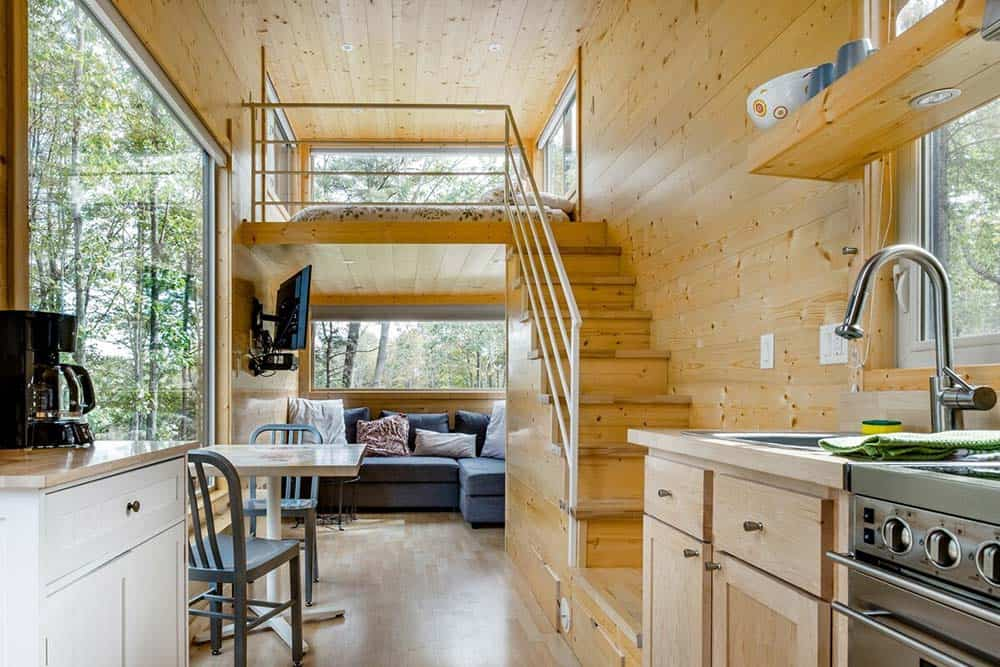 okie tiny home rental