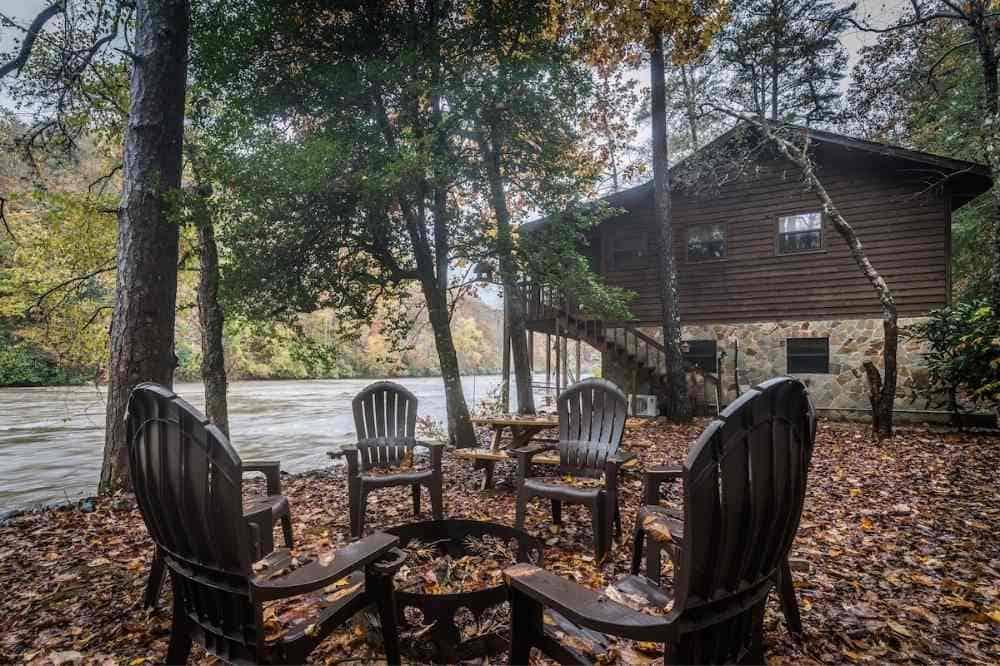paradise river cabin rental murphy nc