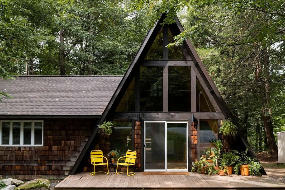 pennsylvania a-frame cabin rental