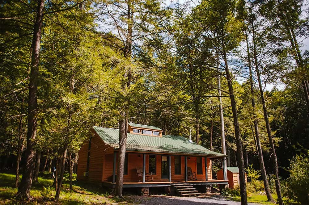 pennsylvania cabin in the woods